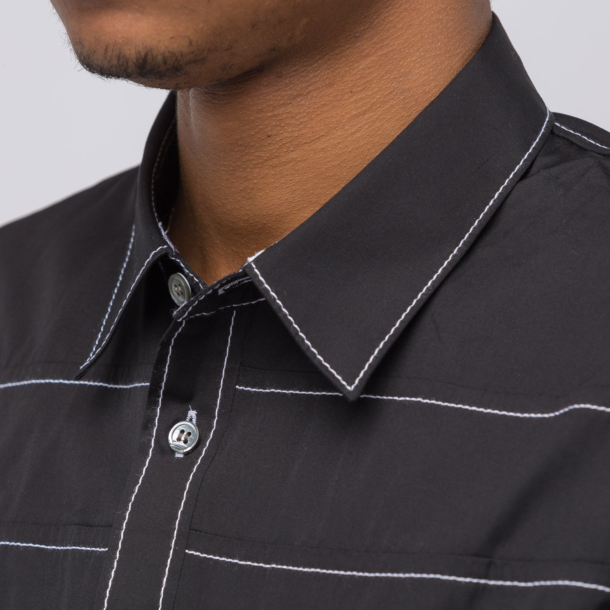 Woven Shirt in Black