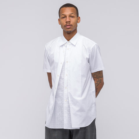 Comme des Garcons Shirt Woven Shirt in White - Notre