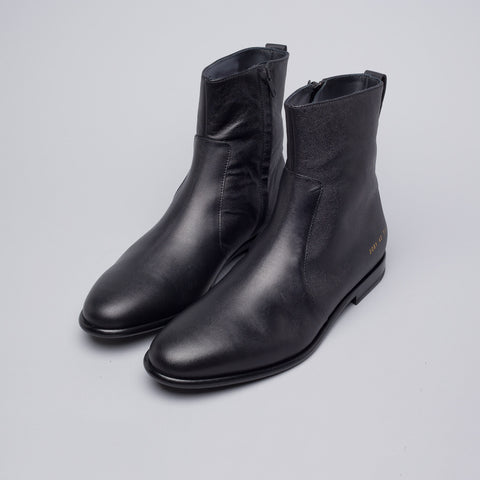 Robert Geller x Common Projects Leather Chelsea Boot in Black - Notre