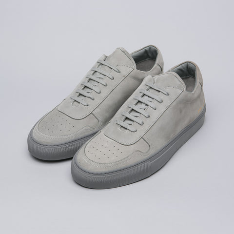 Common Projects B-Ball Low in Grey Nubuck - Notre