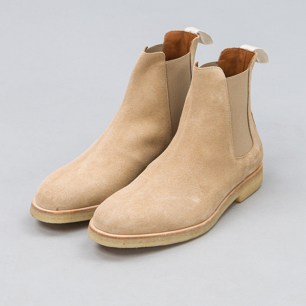 Common Projects - Chelsea Boot in Tan Suede - Notre - 1