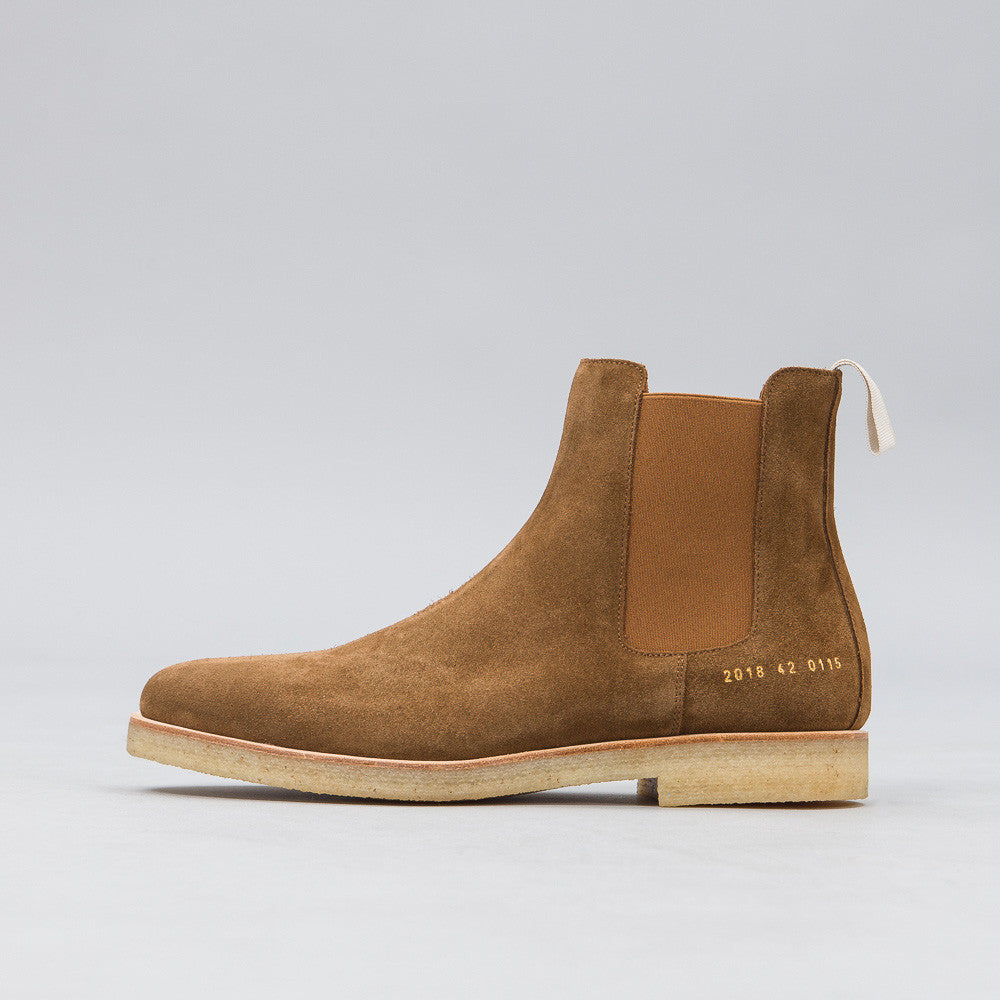 Common Projects - Chelsea Boot in Tobacco Suede - Notre - 1