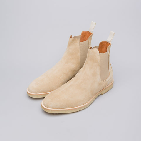 Common Projects Chelsea Boot in Tan Suede - Notre