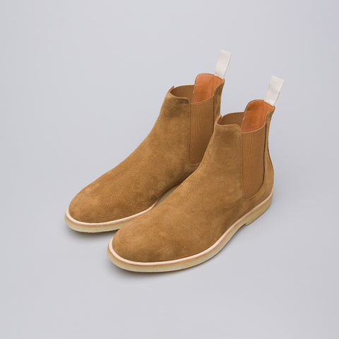 Common Projects Chelsea Boot in Tobacco Suede - Notre