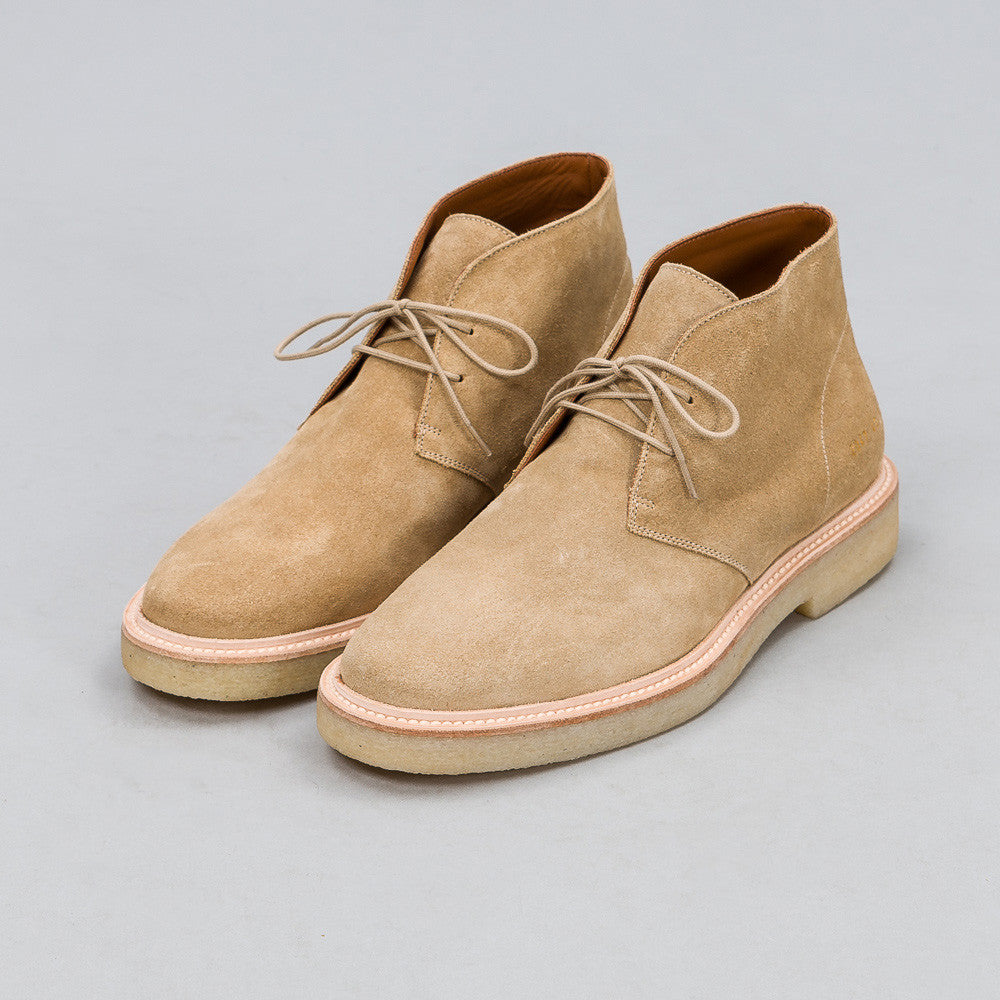 Common Projects Chukka in Tan Suede 2047-1302