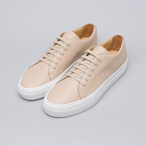 Common Projects Court Low Super in Tan Leather - Notre