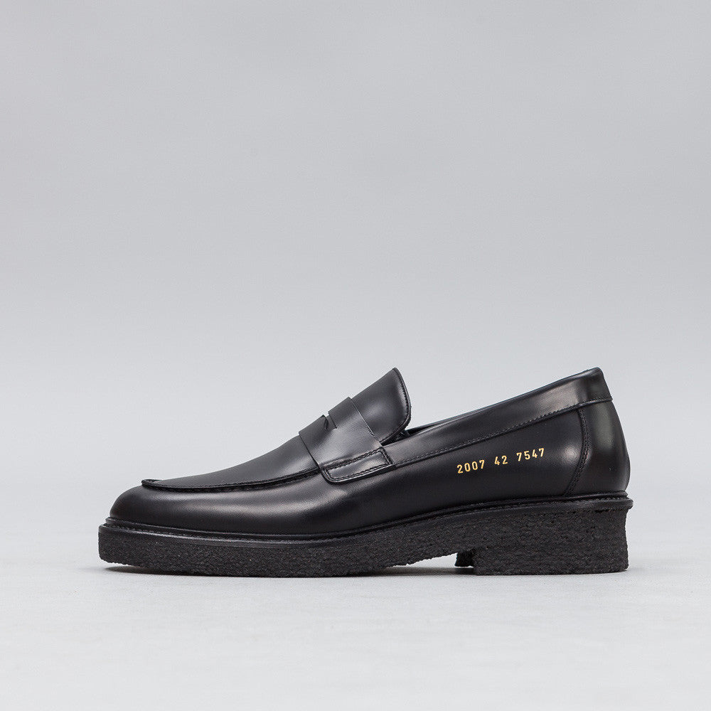 Common Projects - Loafer in Black - Notre - 1