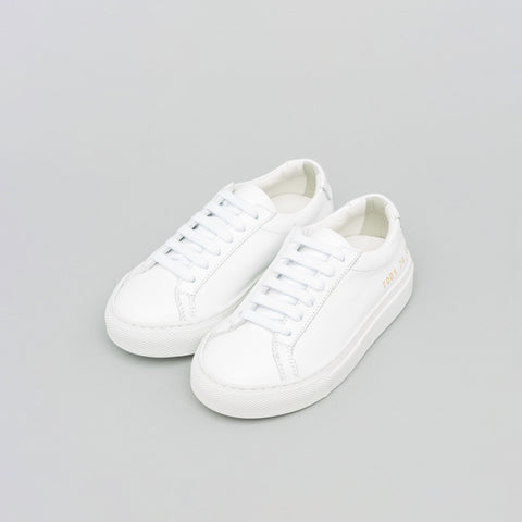 Common Projects Kids Original Achilles Low in White - Notre