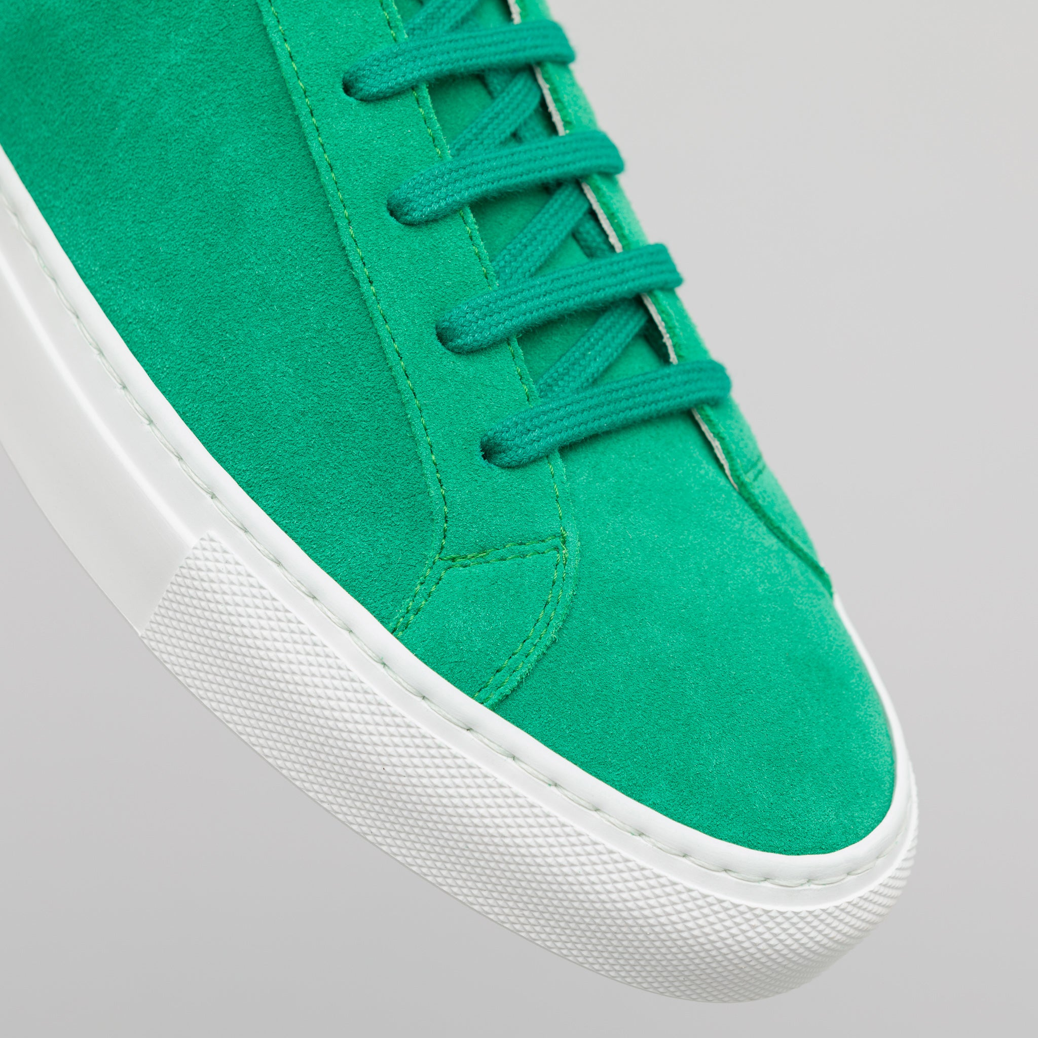 Achilles Low Suede in Green