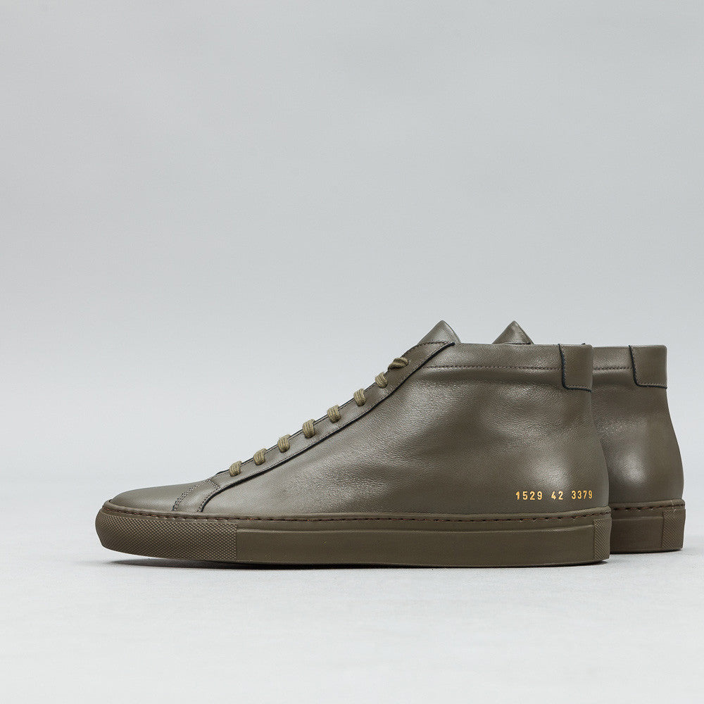 Achilles Mid in Army Green