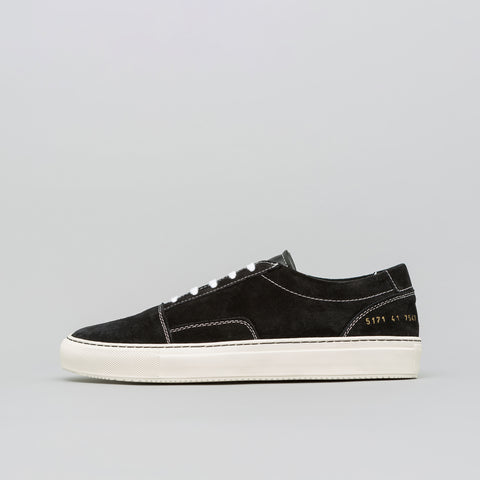 Common Projects Skate Low Suede in Black - Notre