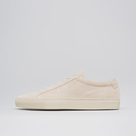 Common Projects Achilles Low Suede in Taupe - Notre