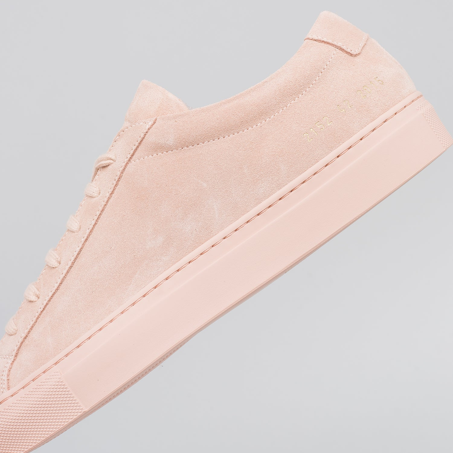 Achilles Low Suede in Blush