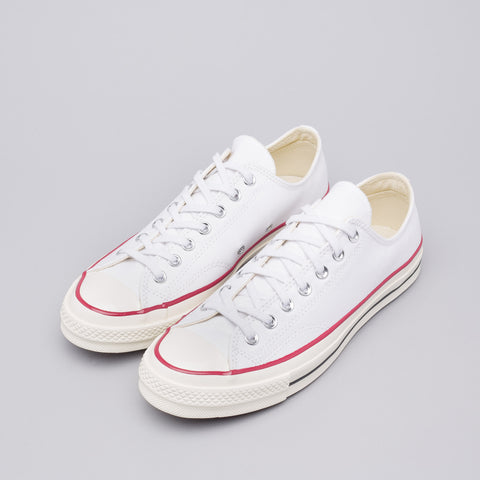 Converse Chuck Taylor All Star '70 Low in White/Red/Black - Notre