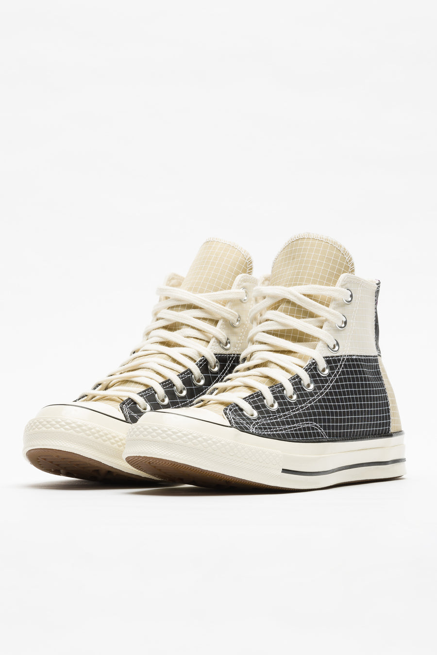 Converse Chuck 70 Hi Panel in Black/Egret/Oyster Grey - Notre