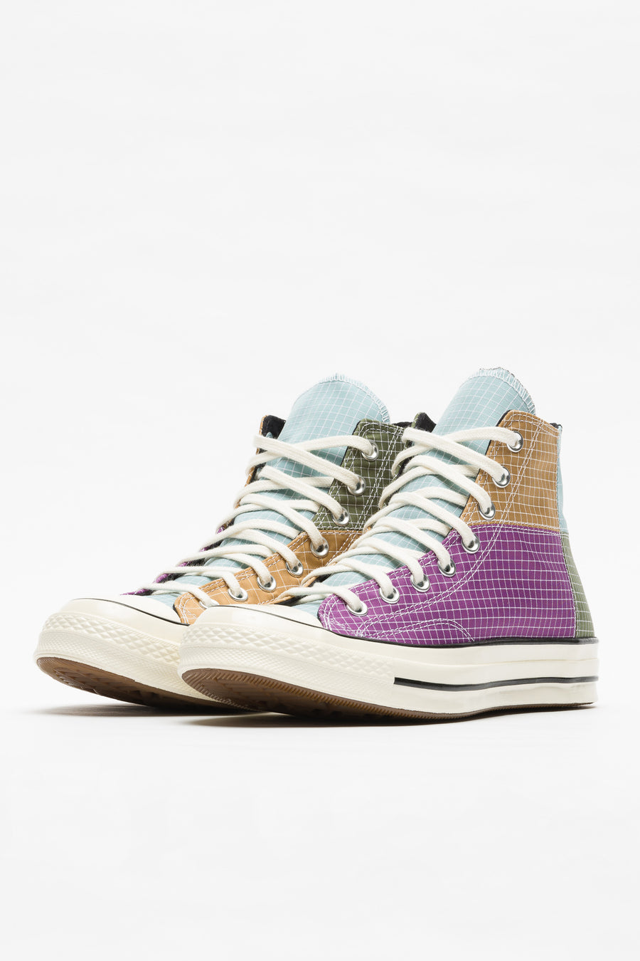 Converse Chuck 70 Hi Panel in Dewberry/Iced Coffee - Notre