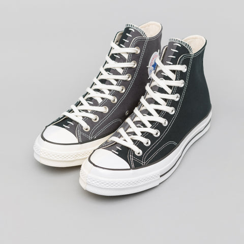 "Converse x Slam Jam Chuck 70 Hi ""Reconstructed"" in Black/Almost Black - Notre"