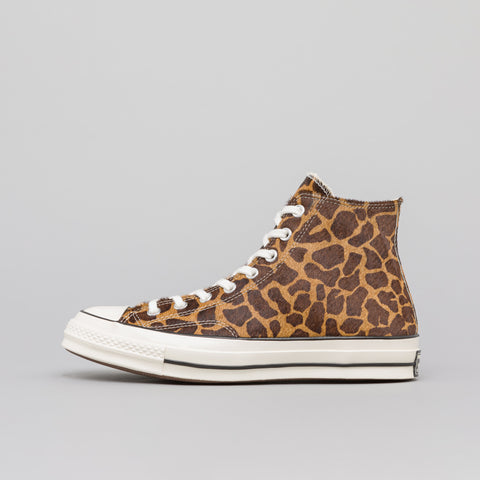 Converse Chuck 70 Hi Pony Hair in Brown - Notre