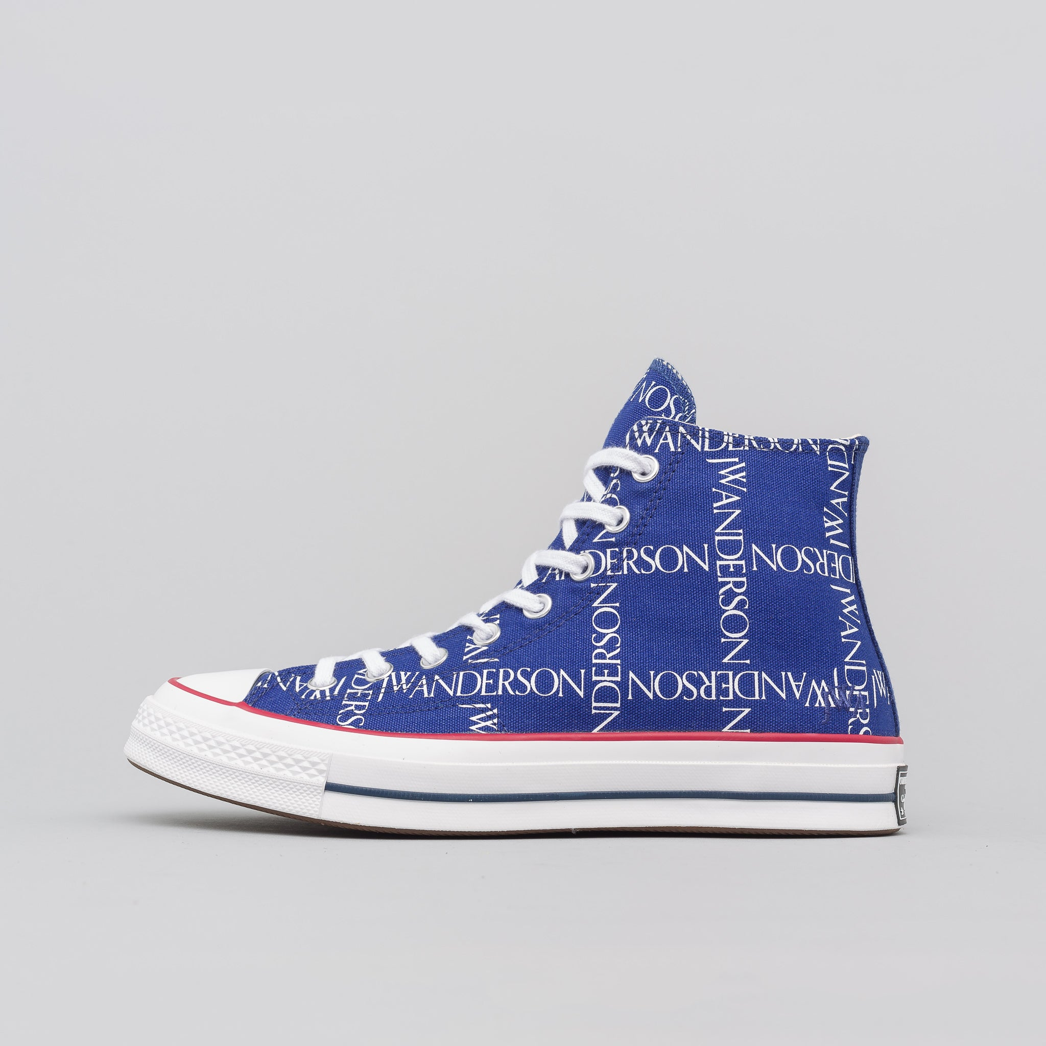 x JW Anderson Chuck 70 Hi in Twilight Blue