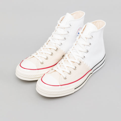 "Converse x Slam Jam Chuck 70 Hi ""Reconstructed"" in White/Egret - Notre"