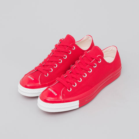 Converse x Undercover Chuck 70 Ox in Racing Red - Notre