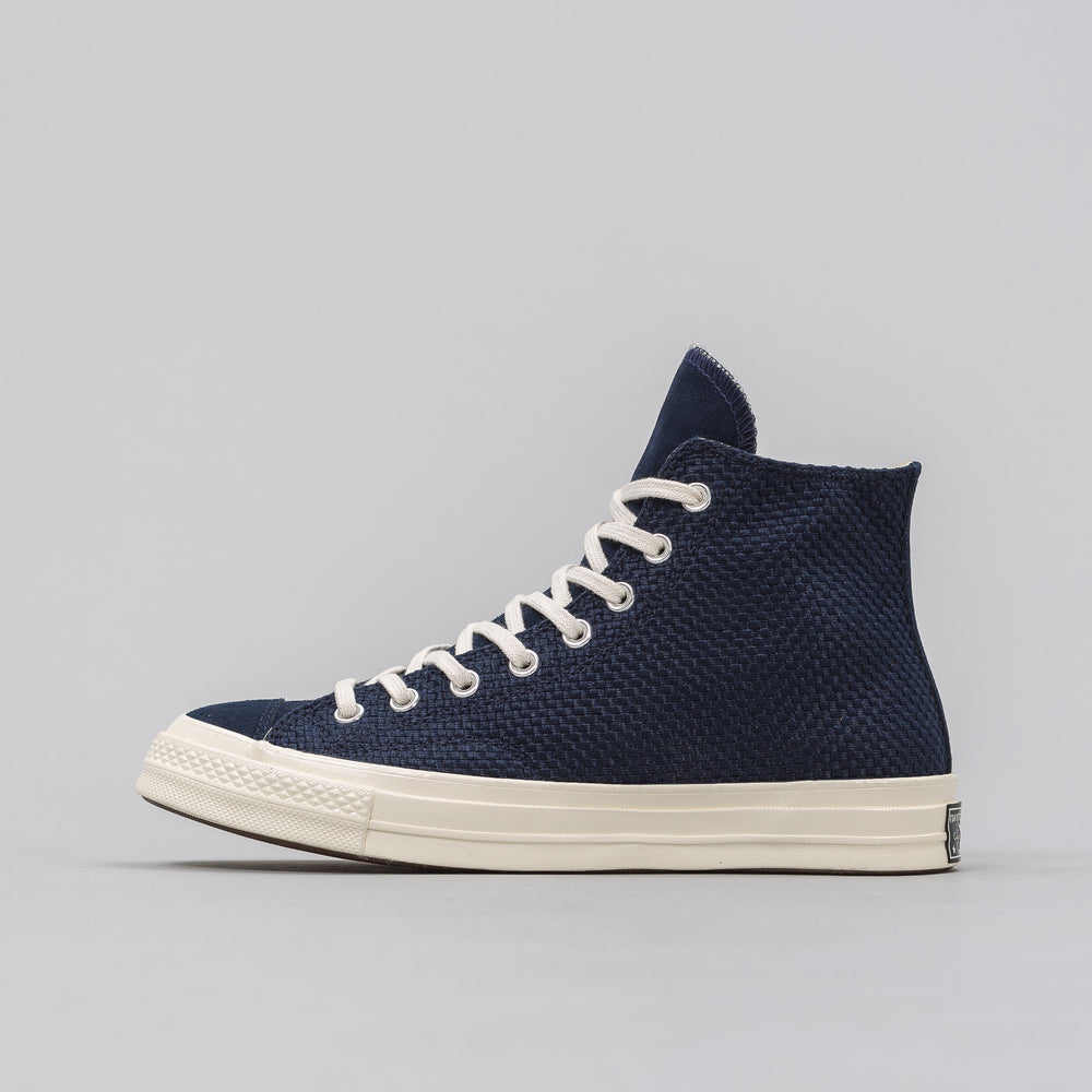 Converse Chuck Taylor All Star '70 Woven Hi in Obsidian - Notre