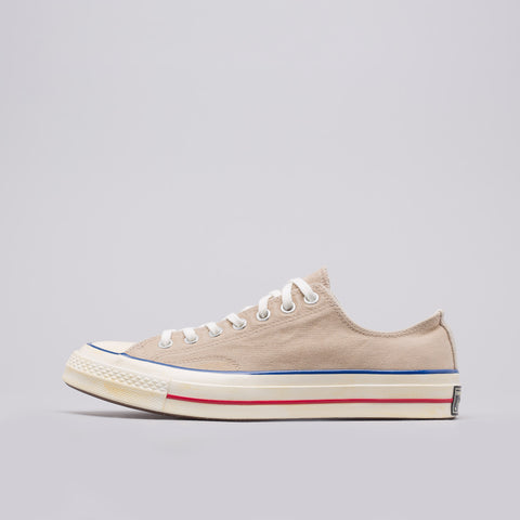 Converse Chuck Taylor All Star 70 Ox in Vintage Khaki/Blue/Red - Notre