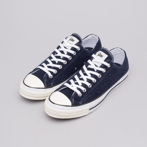 Converse x Patta CTAS 70 Ox in Dark Navy - Notre