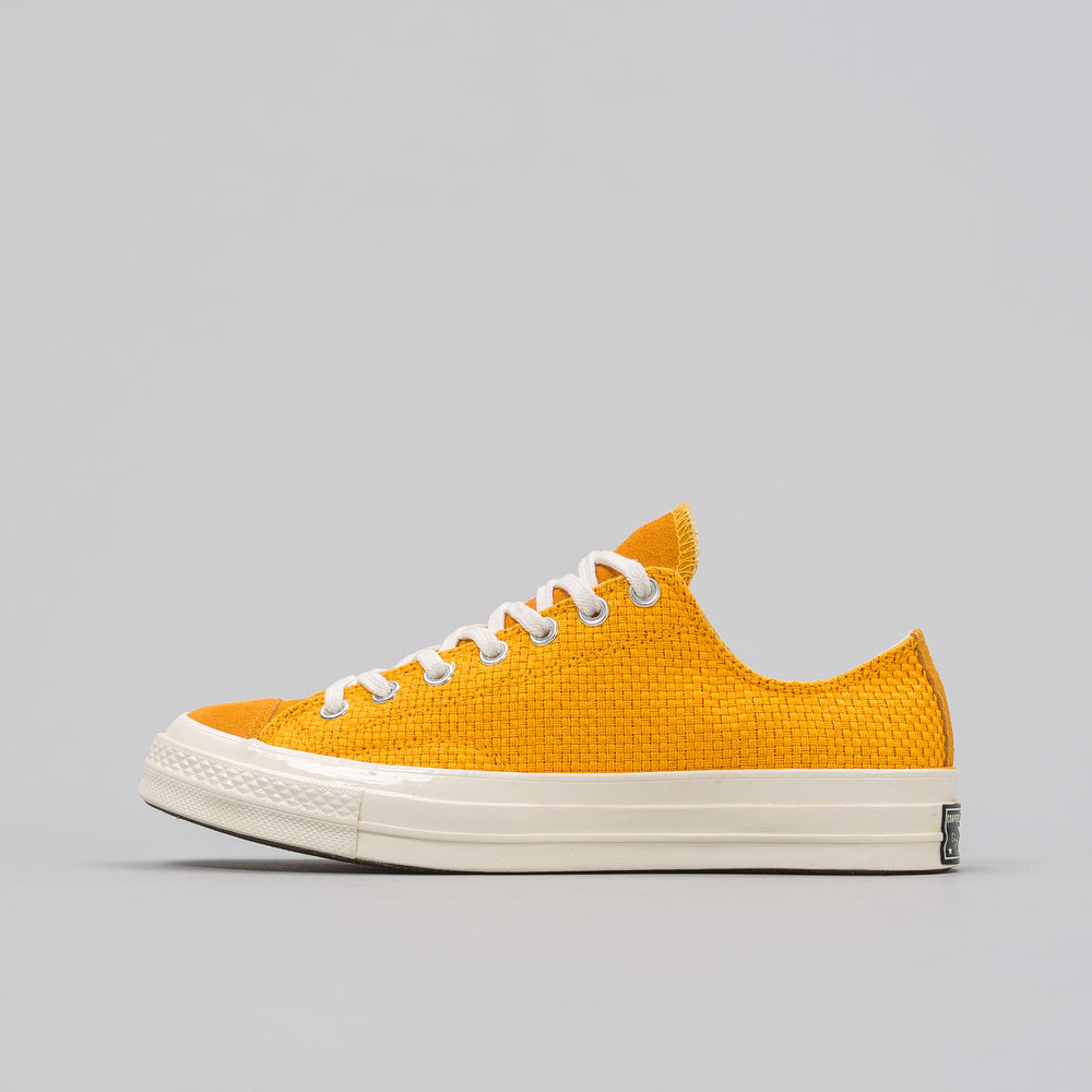 Converse Chuck Taylor All Star 70 Woven Low in University Gold - Notre