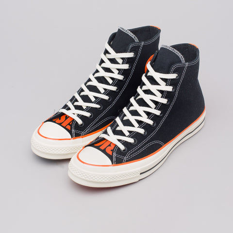 Converse x Vince Staples Chuck 70 Hi in Black - Notre