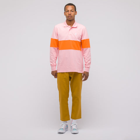 Converse Golf Le Fleur Long Sleeve Polo in Candy Pink - Notre