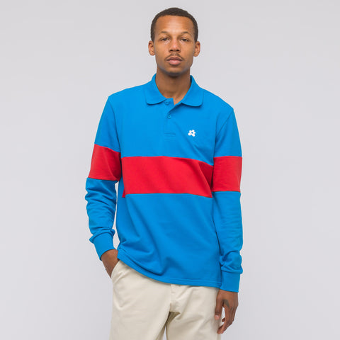 Converse Golf Le Fleur Long Sleeve Polo in Diva Blue - Notre