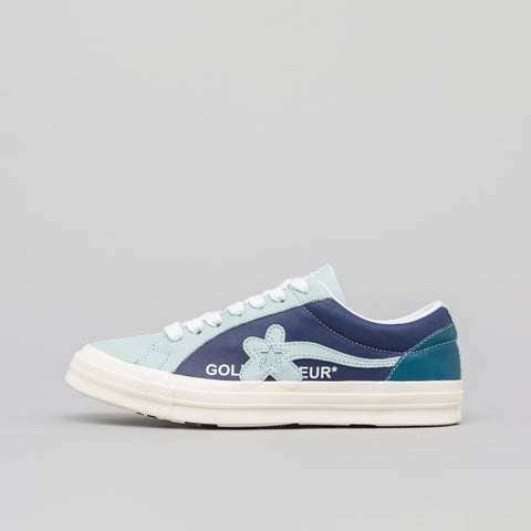 Converse x Golf Le Fleur Ox in Barely Blue/Patriot - Notre