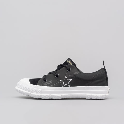 Converse One Star MC18 Ox in Black/White - Notre