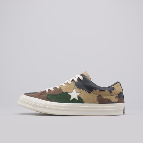 Converse x SNS One Star Ox in Canteen/Black Forest - Notre