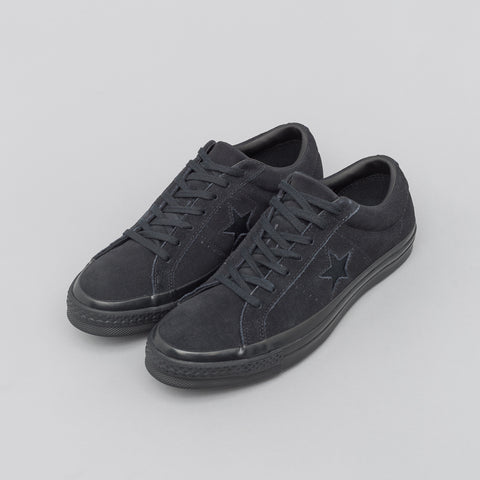 Converse One Star Ox in All Black - Notre