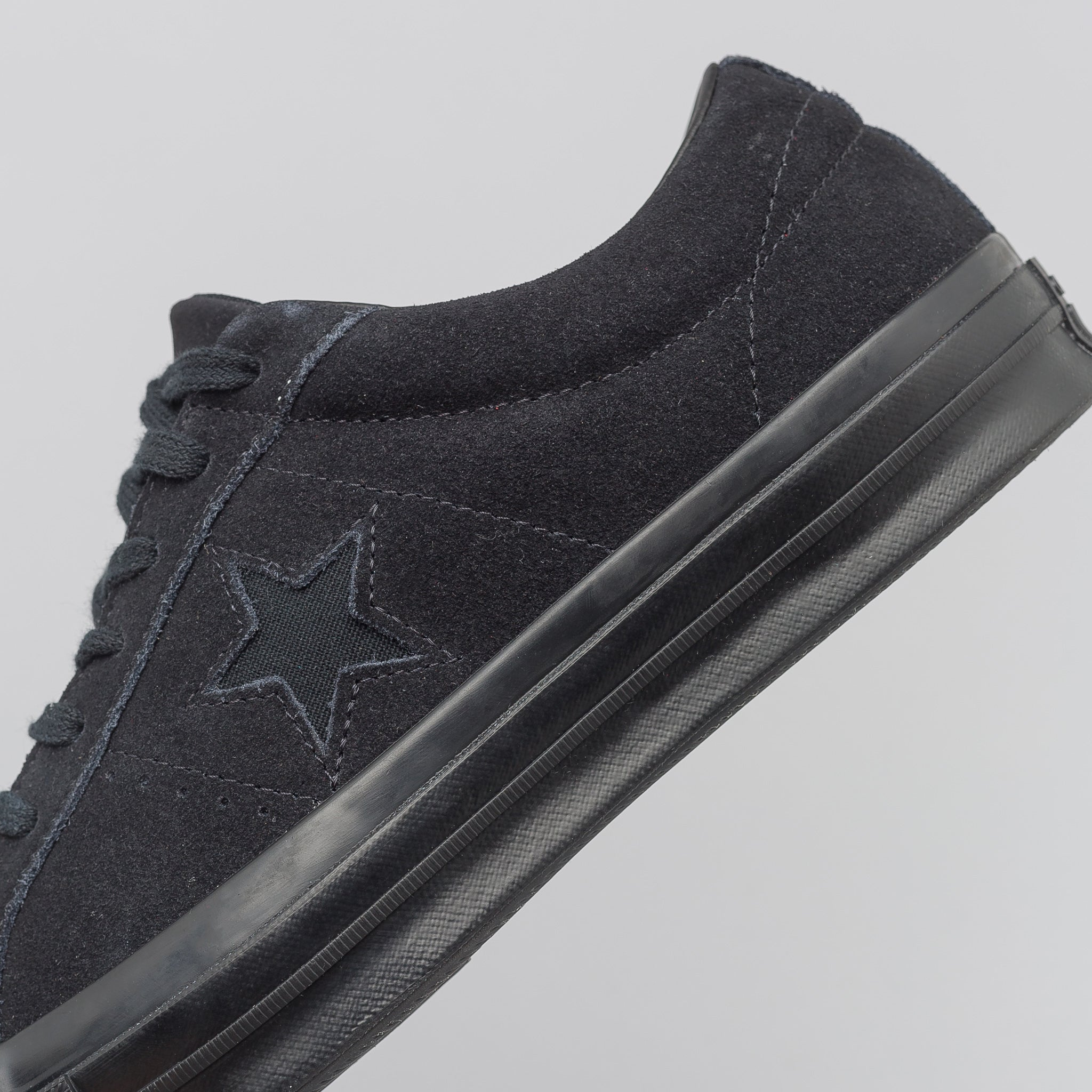 edf41fbdf08c Converse One Star Ox in All Black