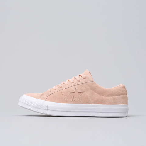 Converse One Star Ox in Dusk Pink - Notre