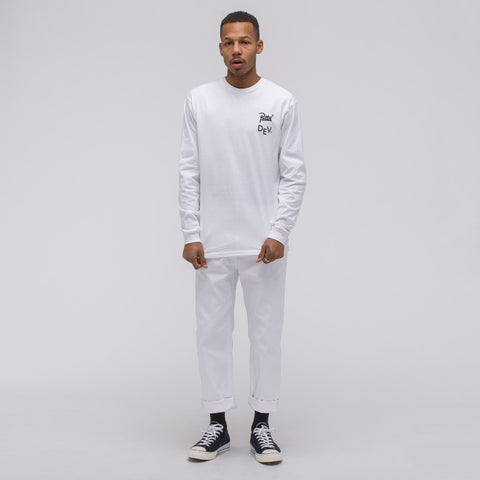 Converse x Patta Long Sleeve T-Shirt in White - Notre