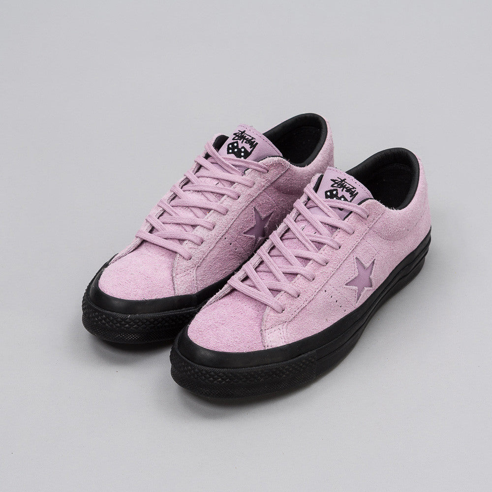 x Stussy One Star 74 Ox in Mauve Mist