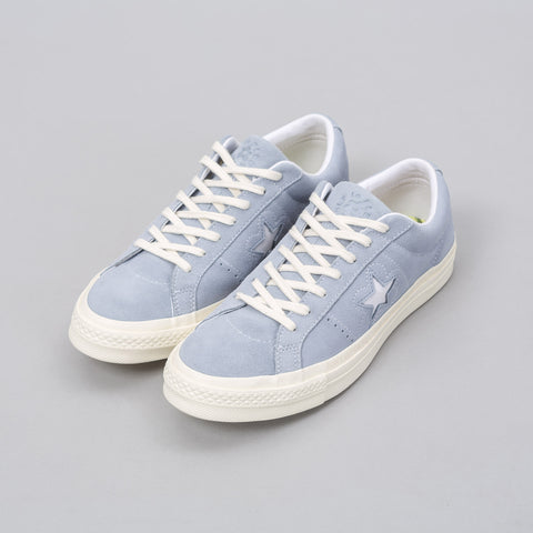 Converse x Golf le Fleur One Star Ox in Airway Blue - Notre