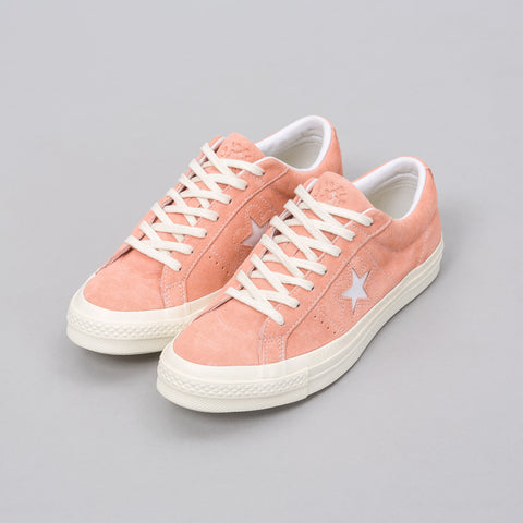 Converse x Golf le Fleur One Star Ox in Peach Pearl - Notre