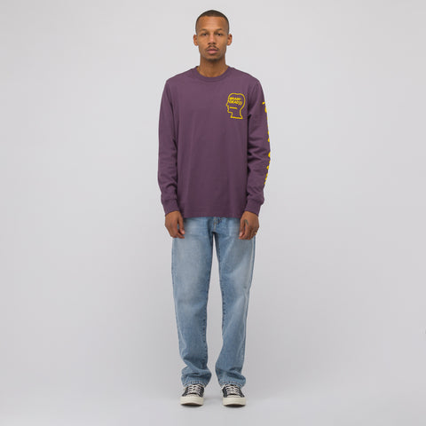 Converse x Brain Dead Long Sleeve T-Shirt in Purple - Notre