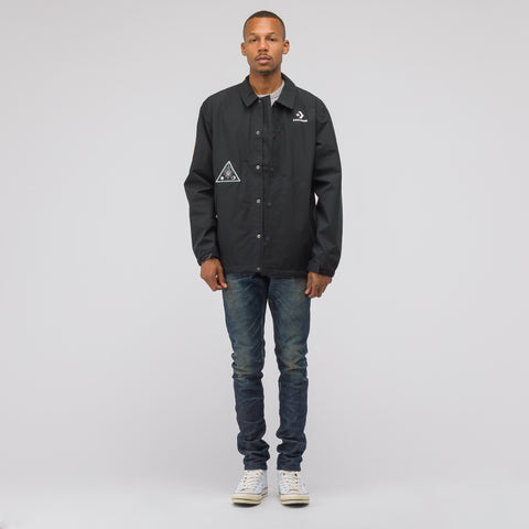 Converse x Dr Woo Goretex Coaches Jacket in Black - Notre