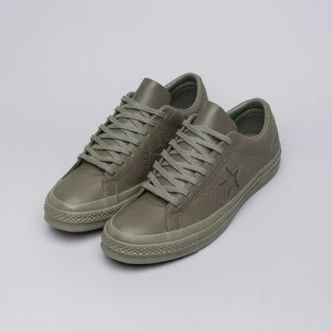 Converse x Engineered Garments One Star Ox in Dark Olive - Notre