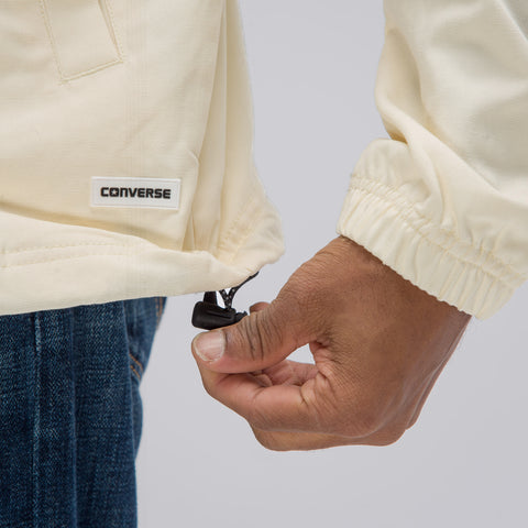 Converse Converse x Foot Patrol Coaches Jacket in Vanilla Custard - Notre