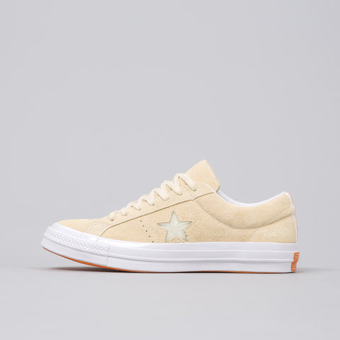 x Footpatrol One Star Suede Low Top in Vanilla Custard