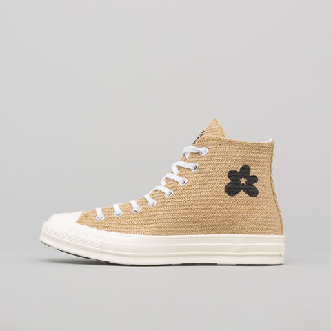 Converse x GOLF le FLEUR* Chuck 70 Hi in Curry/Egret/Black - Notre