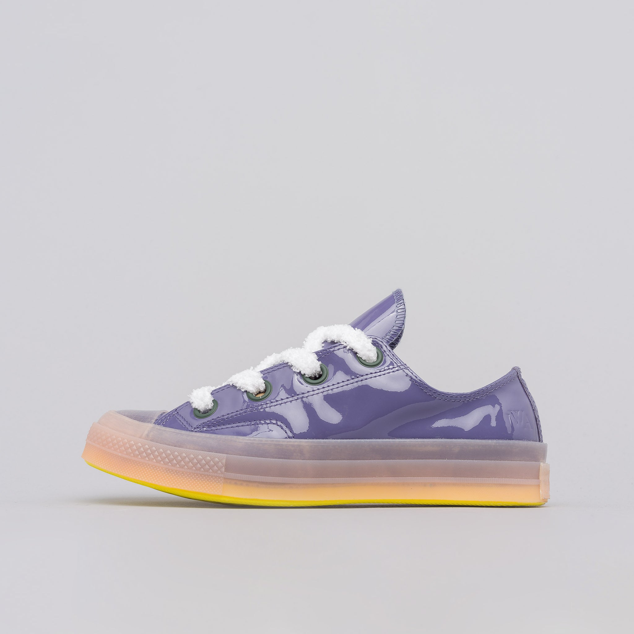 x JW Anderson Chuck 70 Big Eyelets Low Top in Heron/Coral