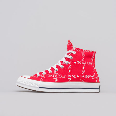 Converse x JW Anderson Chuck 70 Hi in Flame Scarlet - Notre
